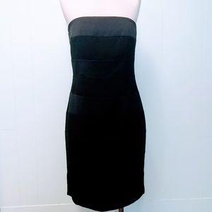 Strapless WHBM Black Cocktail Dress